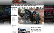 rebeloffroad.com shop screen shot