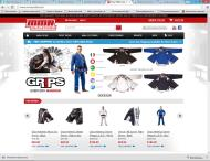 mmaoutlet.com shop screen shot