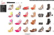 christianlouboutin.com shop screen shot