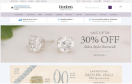 gordonsjewelers.com shop screen shot