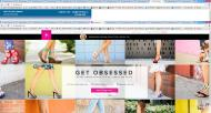 shoedazzle.com shop screen shot