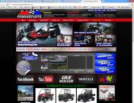 ironmtpowersports.com shop screen shot
