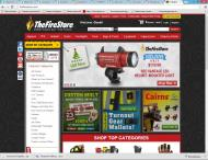 thefirestore.com shop screen shot