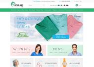 scrubs.com shop screen shot