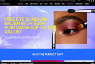 MAC Cosmetics shop screen shot
