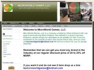 microworldgamesllc.com shop screen shot