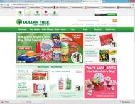 dollartree.com shop screen shot