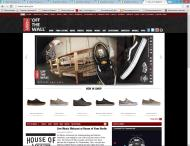 vans.com shop screen shot
