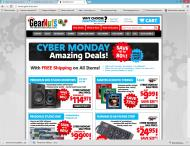 gearnuts.com shop screen shot