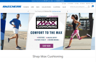 Skechers shop screen shot
