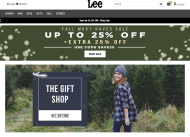 Lee shop screen shot