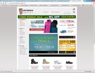 JoesNewBalanceOutlet shop screen shot