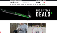 purehockey.com shop screen shot