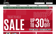 journeys.com shop screen shot