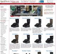muckbootsonline.com shop screen shot