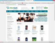 allstarhealth.com shop screen shot