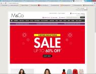 mandco.com shop screen shot