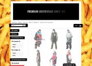 sagaouterwear.com shop screen shot