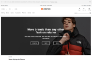 Zalando.co.uk shop screen shot
