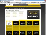 skidoopartshouse.com shop screen shot