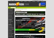 raidentech.com shop screen shot