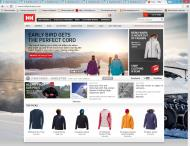 hellyhansen.com shop screen shot