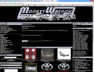 monkeywrenchracing.com shop screen shot