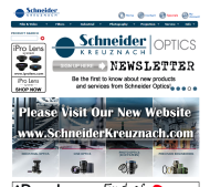 schneideroptics.com shop screen shot