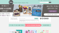 sizzix.com shop screen shot