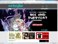 welovefine.com shop screen shot