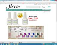 stixie.com shop screen shot