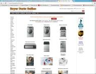 dryerpartsonline.com shop screen shot