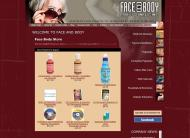 face-body.com shop screen shot