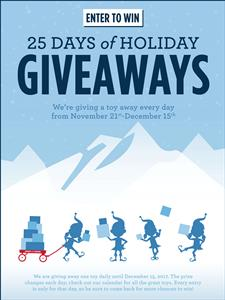 25 Days of Holiday Givea