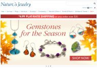 Natures Jewelry shop screen shot
